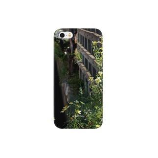 10/29 柵沿い花 HOMETOWN Smartphone cases