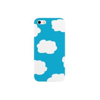 もくもくきれいなお雲 Smartphone cases