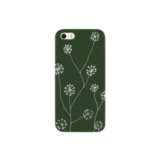 独活の花 Smartphone cases