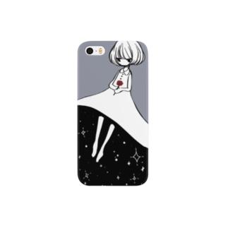 星空スカート Smartphone cases