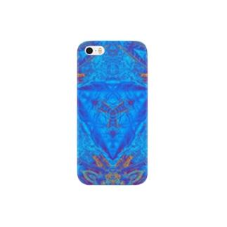 blue Sansevieria Smartphone cases