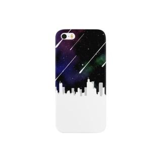 星降る都市 Smartphone cases