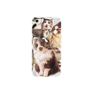 ネコラージュ Smartphone cases