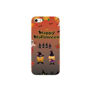 クレコちゃんのハロウィン大仮装パレード Smartphone cases
