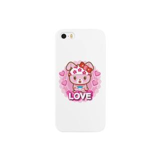 うさっちゃわんちゃん Smartphone cases