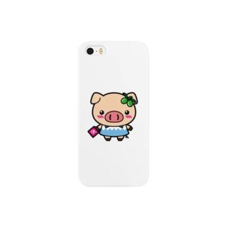 おりぃ~ぶぅ Smartphone cases
