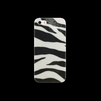 生駒愛のゼブラ Smartphone cases