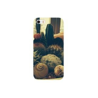 癒しのサボテン Smartphone cases