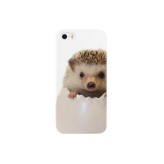 卵とハリネズミ Smartphone cases