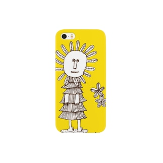 「ハーナ」イエロー Smartphone cases