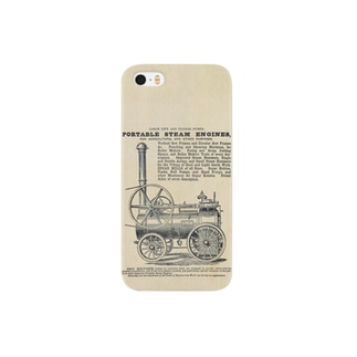 ポータブル蒸気機関の広告 - The British Library Smartphone cases