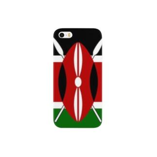 美々野くるみ@金の亡者のケニア 国旗 Smartphone cases