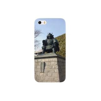 武田信玄像 Smartphone cases
