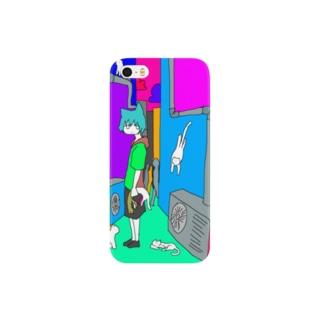 ねこねこ Smartphone cases