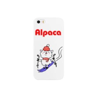 ぷりてぃアルパカ Smartphone cases