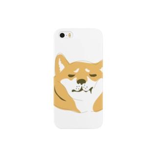 柴犬こうめ「(嫌)」 Smartphone cases