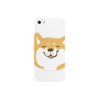 柴犬こうめ「(嬉)」 Smartphone cases