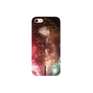 夜空に咲く大輪 Smartphone cases