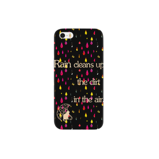 ColorfulLifeのCat in a Rainy Day Smartphone cases