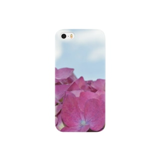 Hydrangea in the sky Smartphone cases