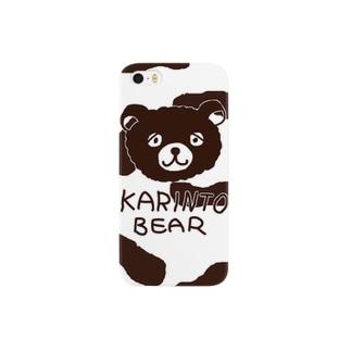 かりんとベア02 Smartphone cases