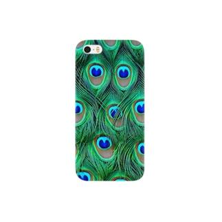 孔雀柄 Smartphone cases