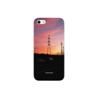 11/04 派手な空 HOMETOWN Smartphone cases