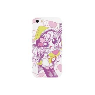 魔女っコ♡はーと Smartphone cases