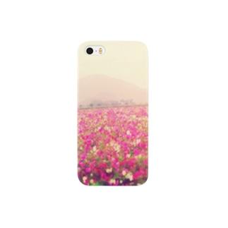 コスモス畑 Smartphone cases