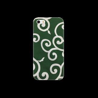 コゲタラコの唐草模様 Smartphone cases