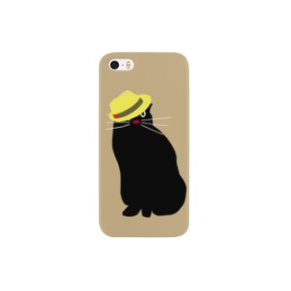 yellowhat_oncat_01 Smartphone cases