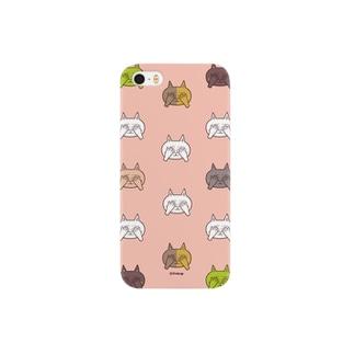 照れるネコ Smartphone cases