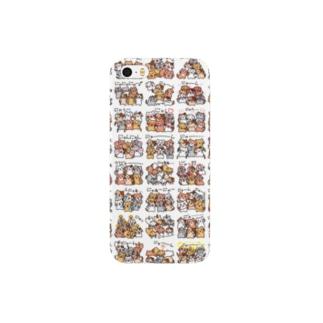 6にゃん子猫(タイプB) Smartphone cases