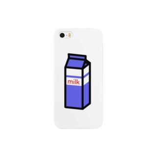 ぎゅうにゅう Smartphone cases
