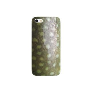 イワナ Smartphone cases