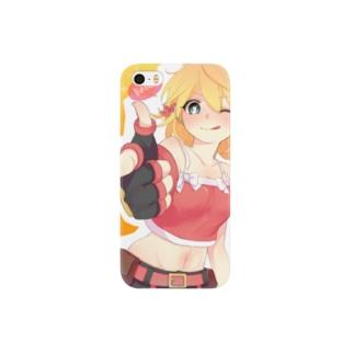 ペーパーマン公式SUZURIショップの【ちどり.さん作品】あいぽんティナ Smartphone cases
