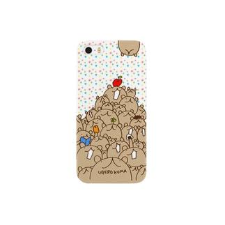 ウゲロくま山盛り(星) Smartphone cases