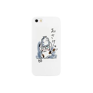 OWANCATのキャラクターです Smartphone cases
