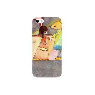 キツネの舞踏会 Smartphone cases