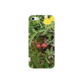 なかよしキノコ Smartphone cases