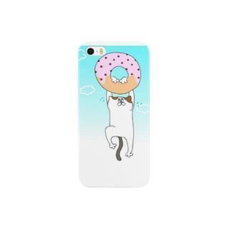 ドーナツとにゃんこ Smartphone cases