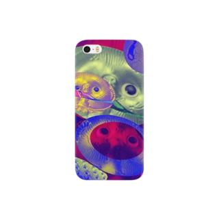 貫禄たぬき Smartphone cases