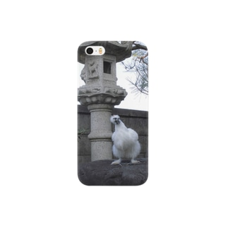 烏骨鶏のぷーちゃん Smartphone cases