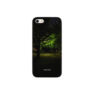11/12 夜の公園 HOMETOWN Smartphone cases
