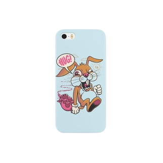 Bunny Light Blue スマートフォンケース
