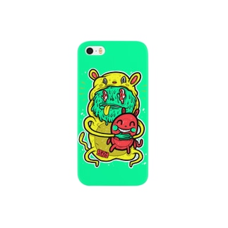 Animal Costum Lime Green Smartphone cases