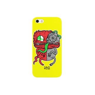 Chameleon Yellow スマートフォンケース