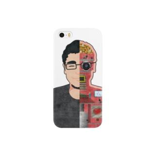 図解 田中さん Smartphone cases