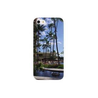 ハワイでパシャリ Smartphone cases