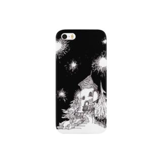 森の塔 Smartphone cases